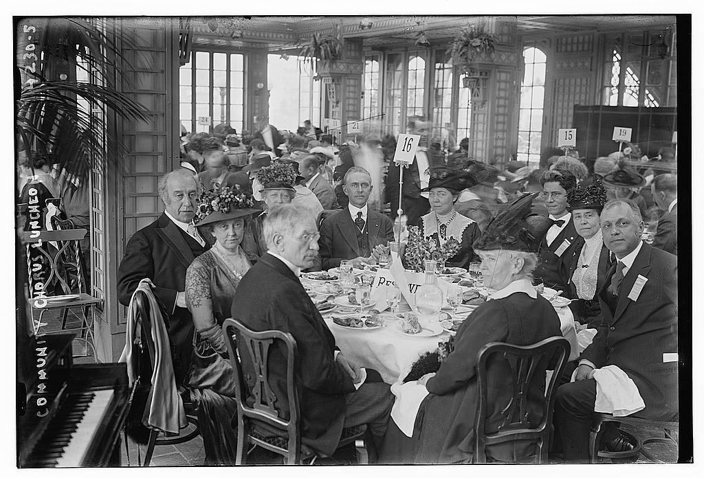 Community chorus luncheon